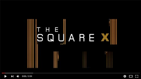 The Square X 3D Animation