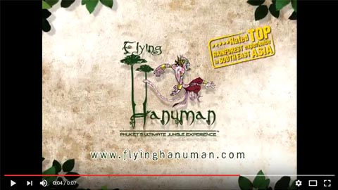 Flying Hanuman Cinema Advertising